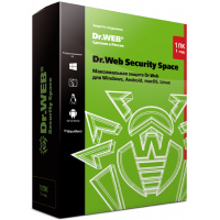 Dr.Web Security Space key