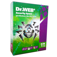 Dr.Web Security Space 1 ПК BOX