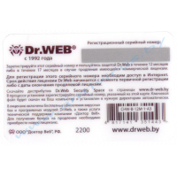 Dr.Web Security Space 1 год 1 ПК card