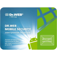 Dr.Web Mobile Security 1 год