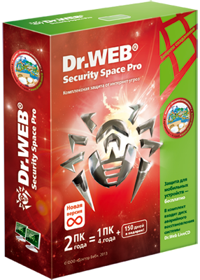 Dr.Web Security Space box